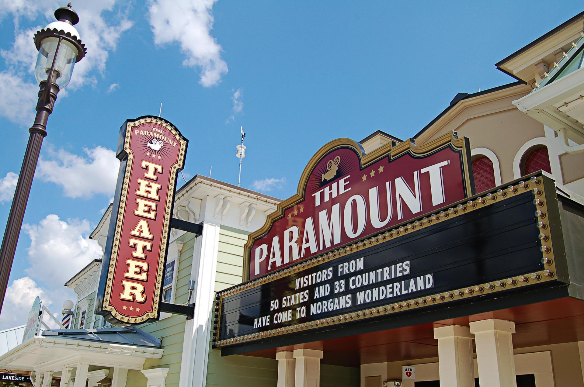 Morgan's Wonderland San Antonio Logo Design Theater