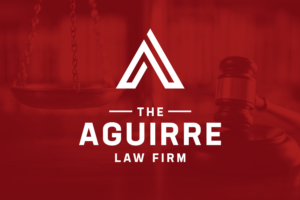 Graphic Design Logo Design Branding Aguirre Law Firm Logo