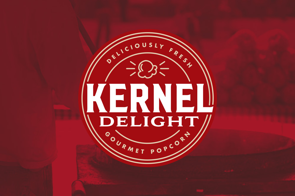 Graphic Design Logo Design Branding Kernal Delight Logo