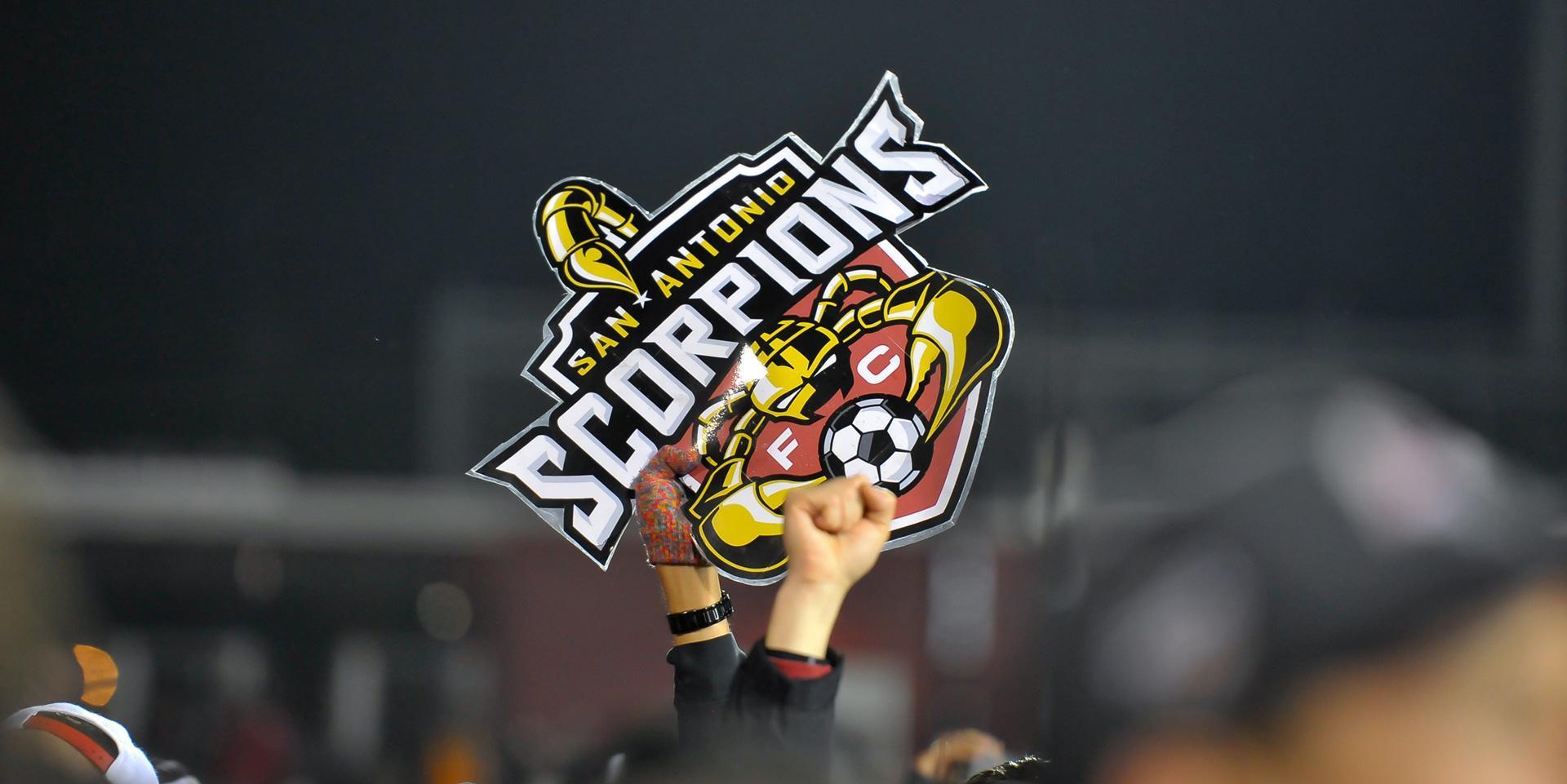 San Antonio Scorpions Logo Design