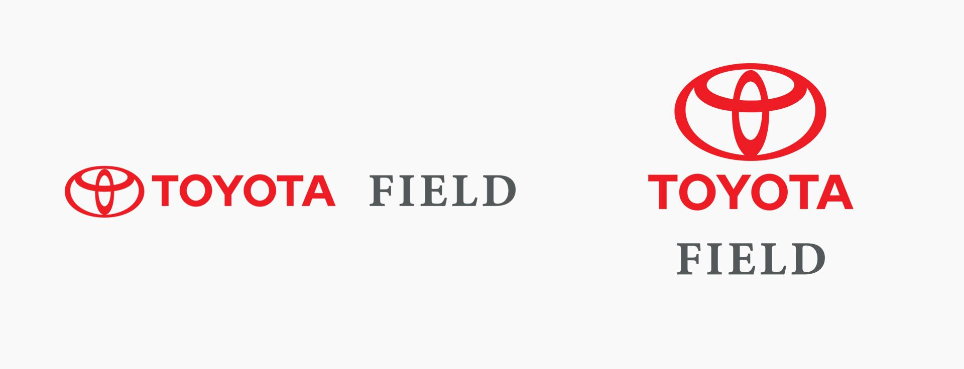 Toyota Field Logo White
