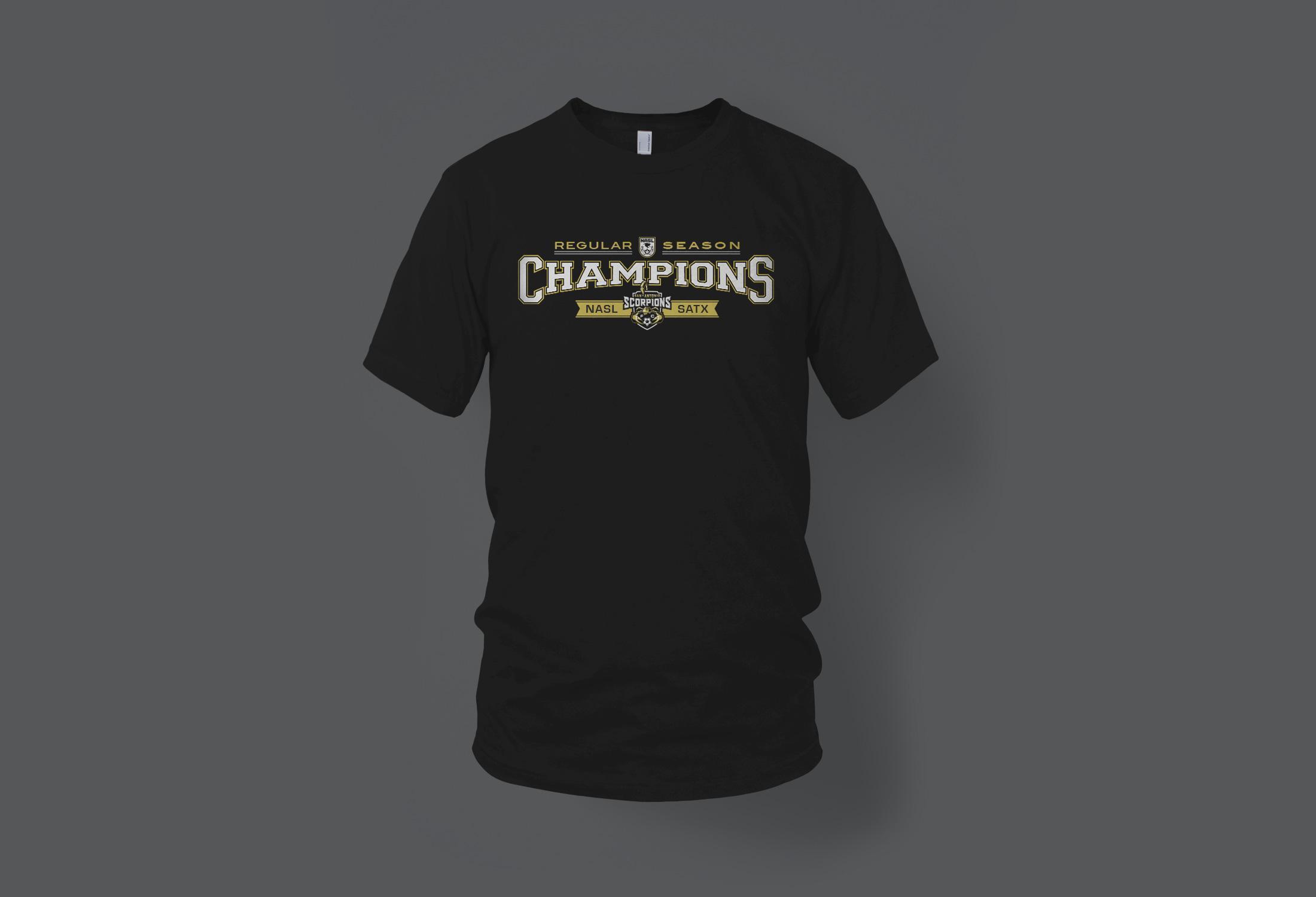 San Antonio Scorpions T-shirt Graphic Design