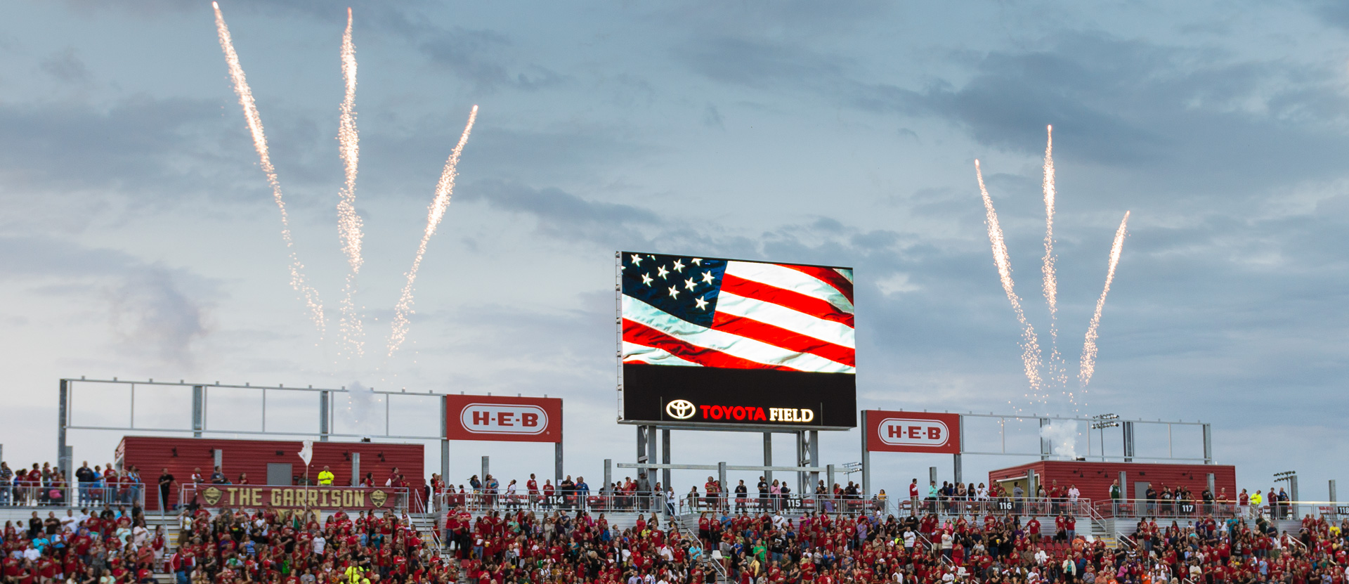 Toyota Field Big Screen
